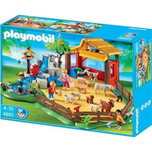 UNIVERS MINIATURE PLAYMOBIL - 4851 - JEU DE CONSTRUCTION - PARC A…