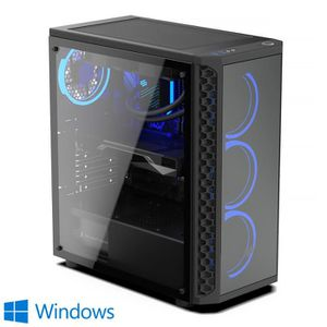 UNITÉ CENTRALE  PC Gaming, AMD Ryzen 5, RX 580, 240Go SSD, 1To HDD
