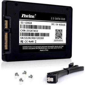 DISQUE DUR SSD Zheino SSD 128 Go SSD S3 2,5 TLC pouces Sata III 3