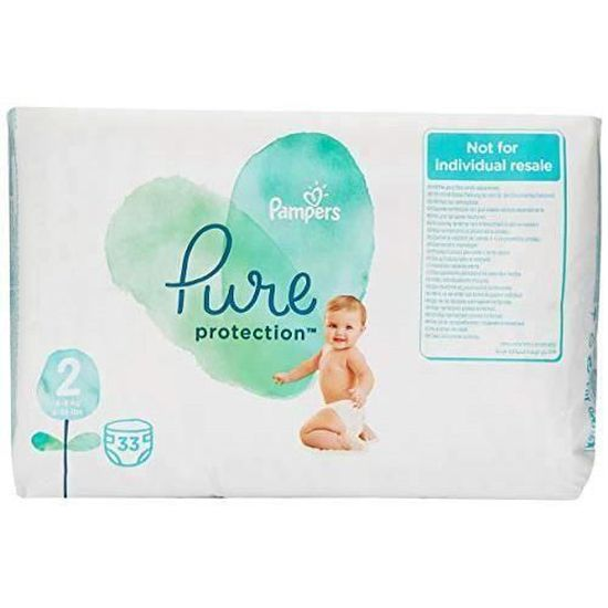Couches - 30 Pi/èces 4-8kg Taille 2, Pampers Protection Premium