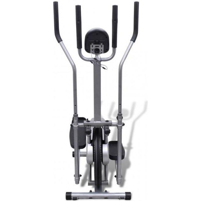 Vélo elliptique 4 poignées