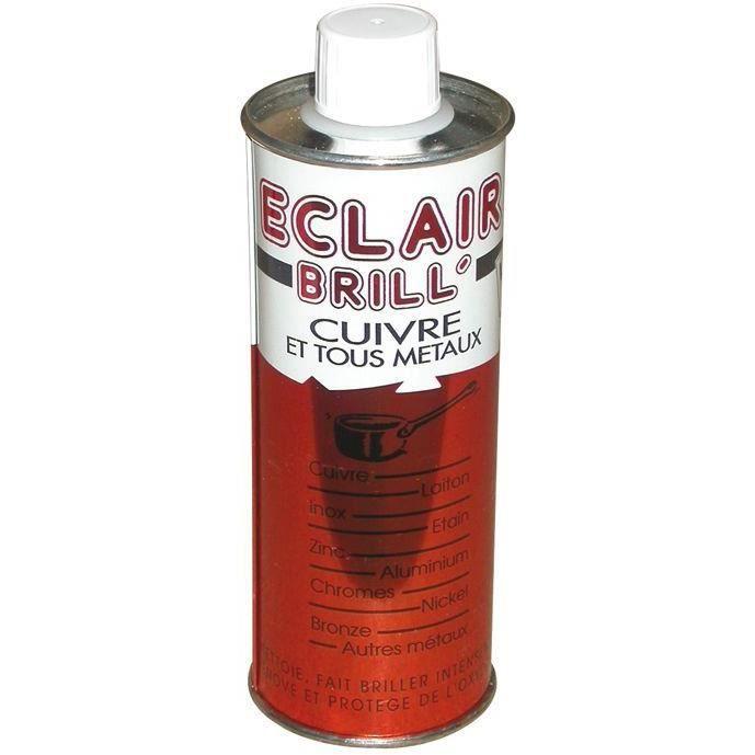 Eclair'brill produit d'entretien pour cuivres et métaux - 250 mL