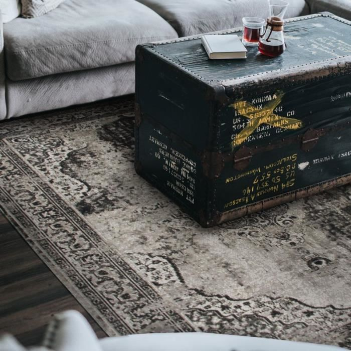 Tapis VINTAGE IN&OUTDOOR MEDAILLON 80X200 gris Gris