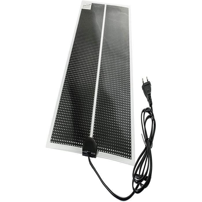 TropicShop Tapis chauffant ultra plat pour terrarium avec câble d'alimentation de 150 cm et pr UE 230 V 30 W 15 x 120 cm,386