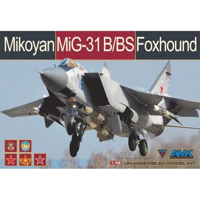Maquette Avion Mikoyan Mig-31b/bs Foxhound - AMK Avantgarde Model Kits