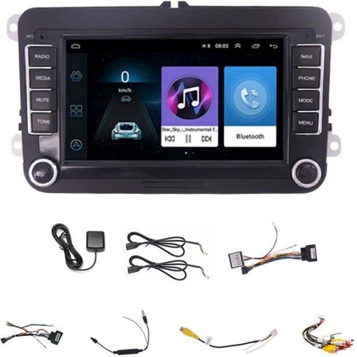1 g 16g Autoradio Android, GPS, lecteur multimédia, stéréo, 2 Din, pour voiture VW, Volkswagen, Golf, Passat,