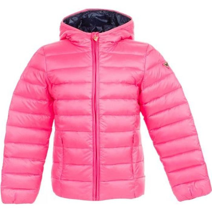 Guess Doudoune Fille J71L11 REAL DOWN BOMBER_CORE Rose - Taille - 12