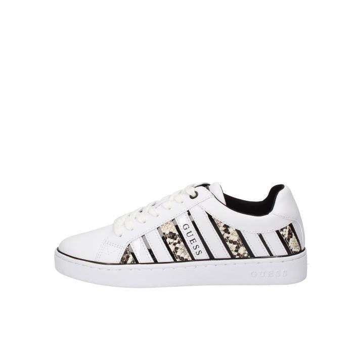 Guess FL5BO2PEL12 chaussures de tennis Femme blanc