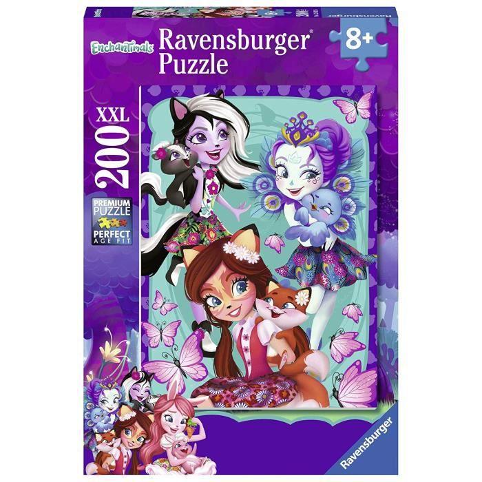 Ravensburger - Meilleures amies pour la Vie 200 pièces XXL, Puzzle, Casse Tete, Garcon, Enfants,Jouets Fille, Jeux,