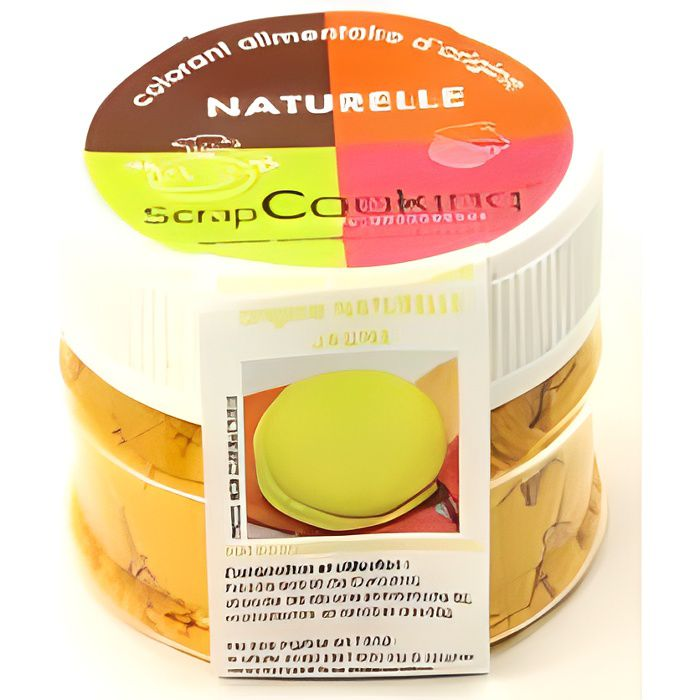 SCRAPCOOKING - Colorant alimentaire naturel jaune