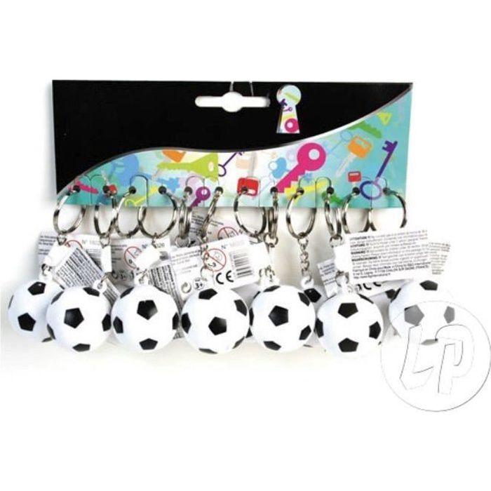 porte-clés ballon de foot en plastique dur