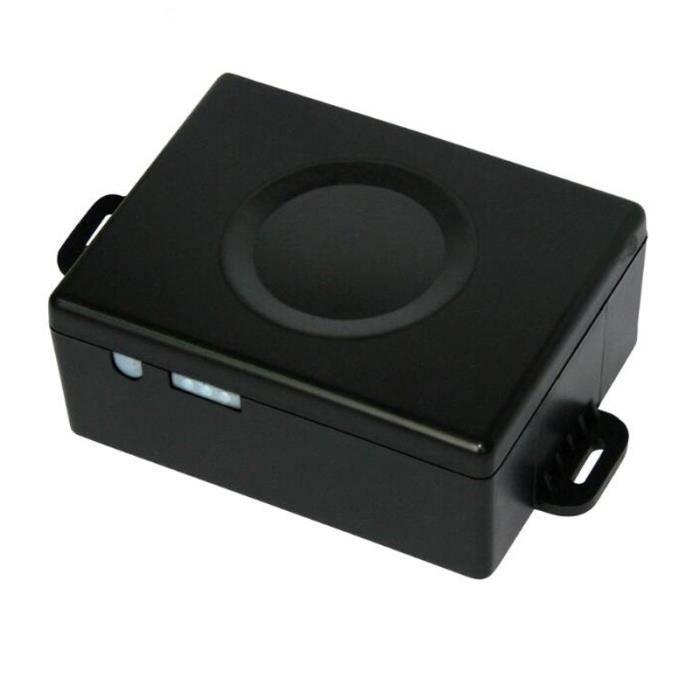 Traceur GPS Voiture noir mini magnétique imperméable à l'eau de véhicule personnel GPS Tracker, batterie longue durée intégrée,