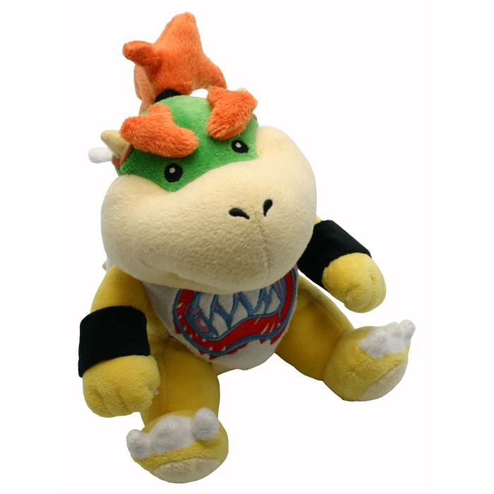 nintendo peluche mario bros 19cm bowser jr achat vente peluche cdiscount. Black Bedroom Furniture Sets. Home Design Ideas
