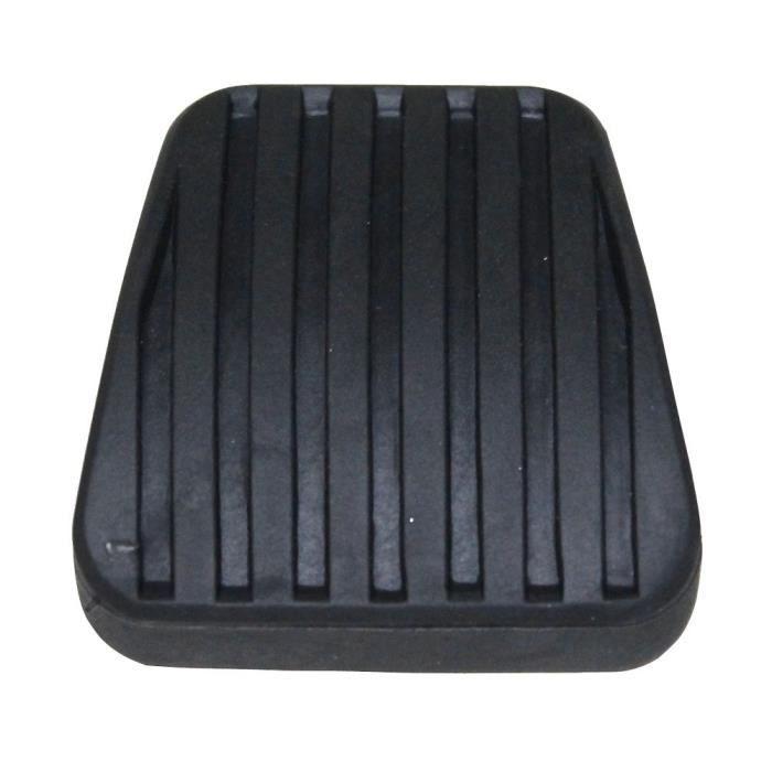 Couvre-p/édale caoutchouc rev/êtement p/édale de freins pour auto voiture AERZETIX