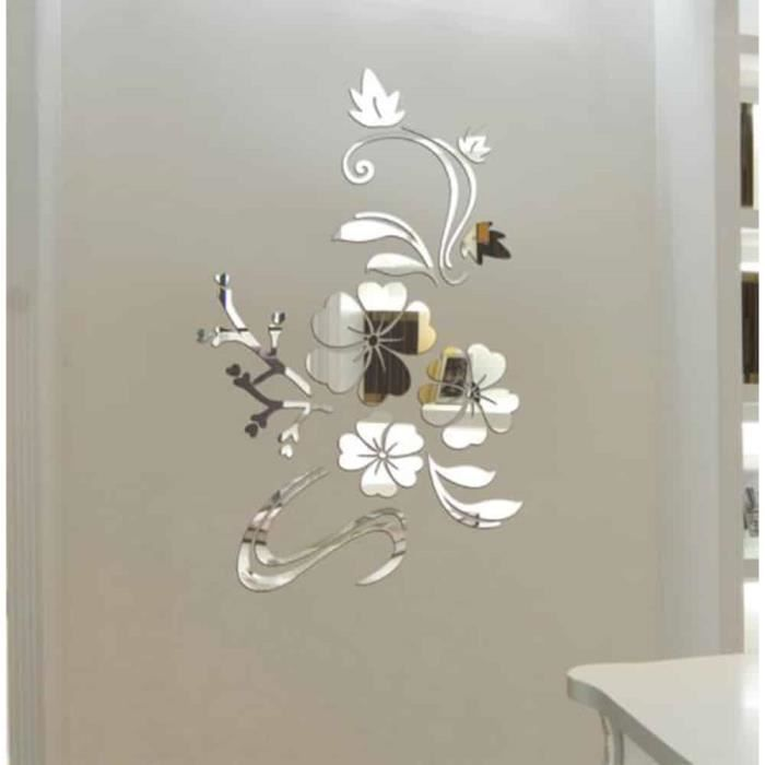 // Mur Graphique Baroque Vinyle Autocollants Art Mural
