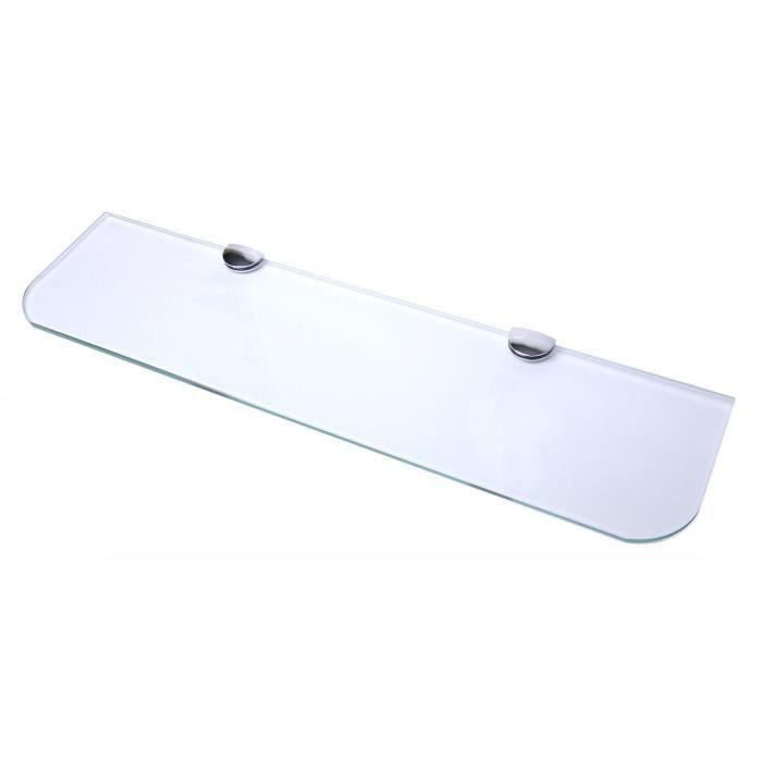 Petite étagère support étagère en verre support 5-8mm épaisseur étagères Pack de 2