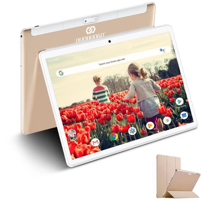 "TABLETTE TACTILE Tablette Tactile 10,1"" HD 4G/wifi, 32Go ROM/64Go A"