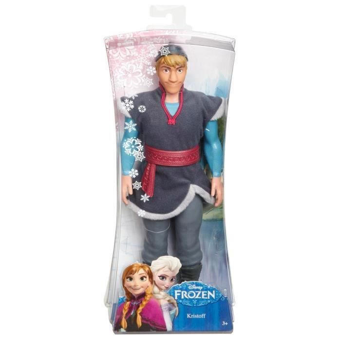 frozen disney poup e kristoff la reine des neiges achat vente poup e frozen disney poup e. Black Bedroom Furniture Sets. Home Design Ideas
