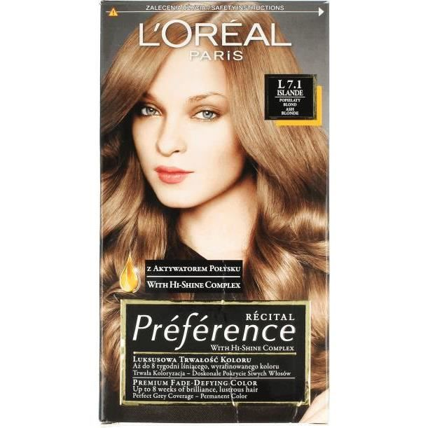 coloration loreal recital prfrence couleurs - Coloration Preference