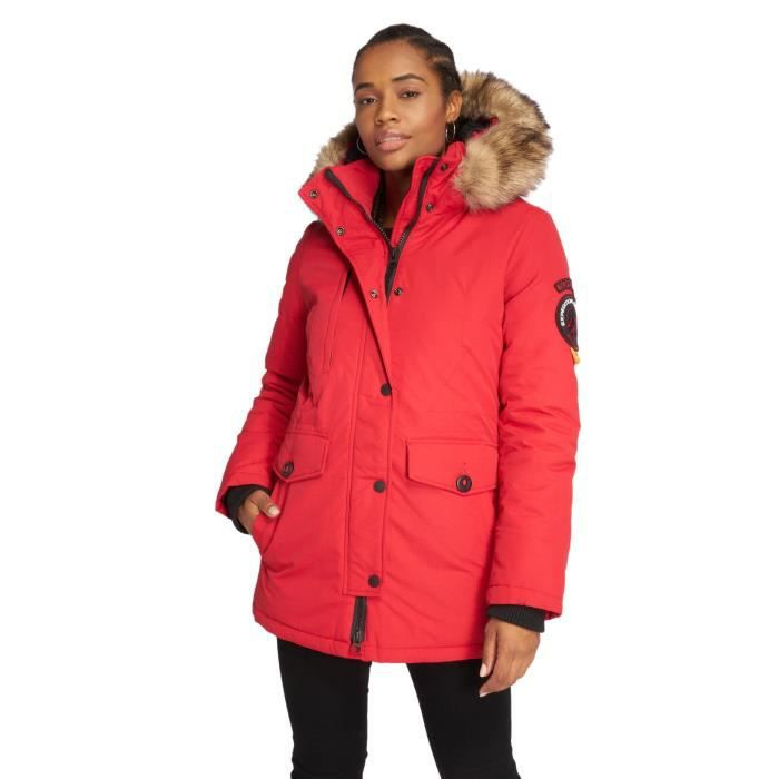 Femme Everest Superdry Ashley Hiver Manteau Vestes amp; Manteaux gdqdxPFv