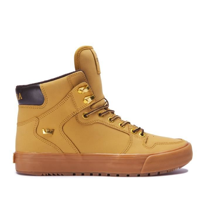 BASKET Chaussures SUPRA VAIDER CW amber gold light gum fe