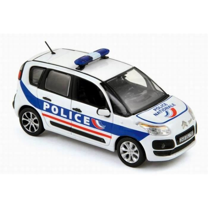 voiture citro n c3 picasso 2011 police nationale norev 1 43 achat vente voiture camion. Black Bedroom Furniture Sets. Home Design Ideas