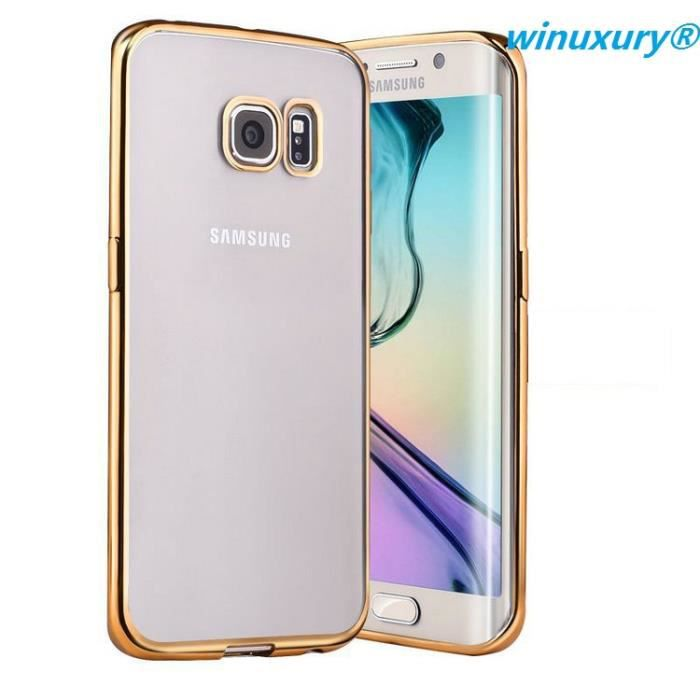 samsung galaxy s6 edge plus coque transparente