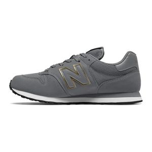 New Balance 500, Baskets Femme, Gris (Grey/Rose Gold CR), 37.5 EU