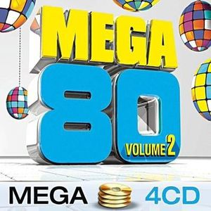 CD COMPILATION MEGA 80 VOL 2 – Compilation – Coffret 4 CD