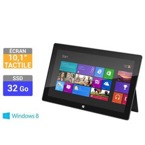 "TABLETTE TACTILE Microsoft  Surface RT 10,6"" 32 Go"