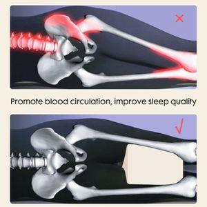 OREILLER Coussin d'allégement l'oreiller jambe sommeil geno