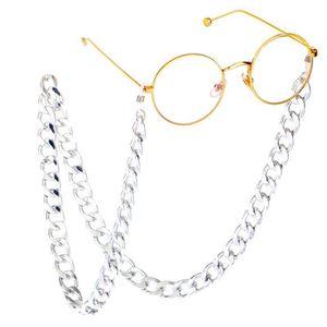 78 cm long Lunettes de lecture longe sangle porte-lunettes Cou Cordon Chaîne en Métal