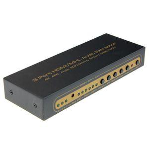 CÂBLE AUDIO VIDÉO 4K Commutateur HDMI Switcher Box Sélecteur de sort