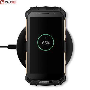 CHARGEUR TÉLÉPHONE Raugee de recharge sans fil chargeur sans fil Qi d