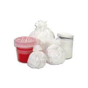 SAC POUBELLE oîte de 1000 sacs poubelle 10 litres blanc 12 mic