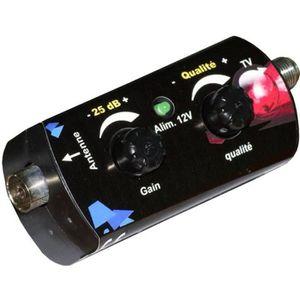 REPETEUR DE SIGNAL Amplificateur universel VHF/UHF Elap Booster 35 dB