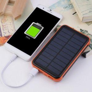 BATTERIE EXTERNE KIN 50000MAH Power Bank solaire étanche grande cap