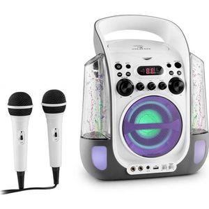 CHAINE HI-FI auna Kara Liquida - Chaîne karaoké portable avec l