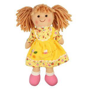 POUPÉE Poupée en tissu Daisy Bigjigs Toys 18 mois et +