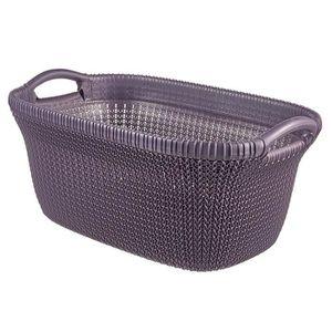 PANIER A LINGE Curver Knit Panier à linge Plastique Violet 59,5 x
