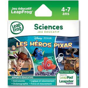 JEU CONSOLE ÉDUCATIVE HEROS PIXAR Explorer Jeu LeapPad LeapFrog