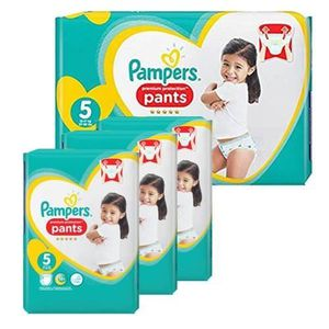 COUCHE 544 Couches Pampers Premium Protection Pants taill