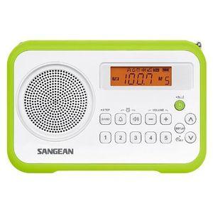 RADIO CD CASSETTE SANGEAN PR-D18 RÉCEPTEUR NUMÉRIQUE PORTABLE STÉ…