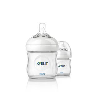 BIBERON  PHILIPS AVENT Natural 2 Biberons 125ml SCF69027