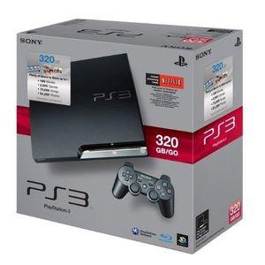 CONSOLE PS3 Console PS3 320 GO