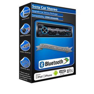 AUTORADIO Ford Smax CD player, Sony MEX-N4200BT car stereo B