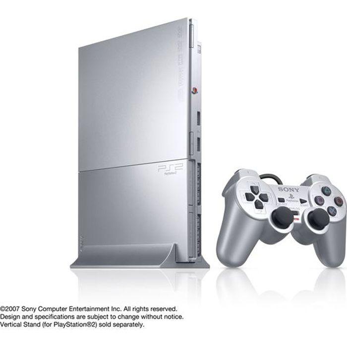 Console PS2 SLIM Silver