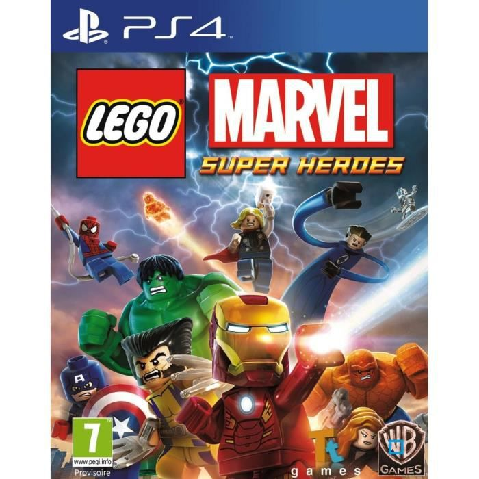 lego marvel super heroes jeu ps4 achat vente jeu ps4 lego marvel super heroes cdiscount. Black Bedroom Furniture Sets. Home Design Ideas