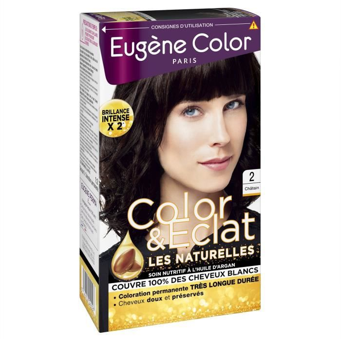 EUGENE COLOR Crème Colorante permanente N2 Chatain