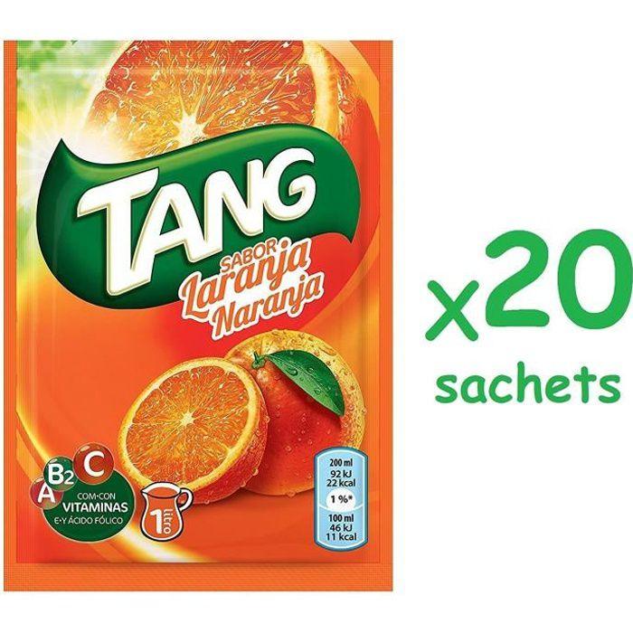 Tang orange 20 sachets jus de fruit de notre enfance